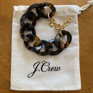 Tortoise Chainlink Bracelet. NWT.